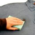 Як відіпрати мазут з одягу?