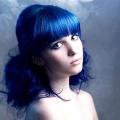 Як пофарбувати волосся в синій колір, як фарбувати синькою волосся?