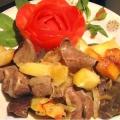 Рецепт: як приготувати печінку з картоплею і цибулею?