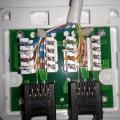 Як обжати розетку: обтиск мережевого кабелю