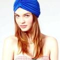 Як зав'язати хустку на голові: чалма