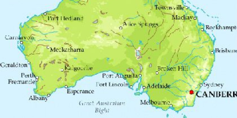 Австралія: як розташований материк щодо екватора?