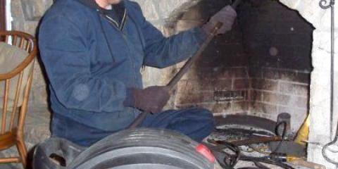 Як чистити грубку від сажі?