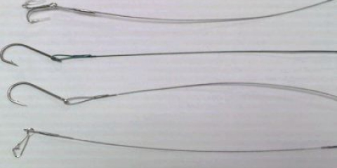 Як робити повідці для риболовлі з волосіні?