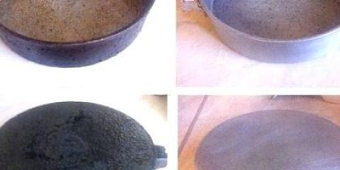 Як очистити стару сковорідку: старовинний спосіб