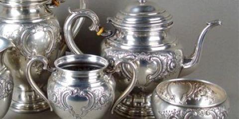 Як почистити срібло перекисом водню?