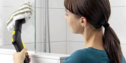 Як почистити дзеркало у ванній?