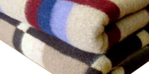Як прати вовняну ковдру, плед?