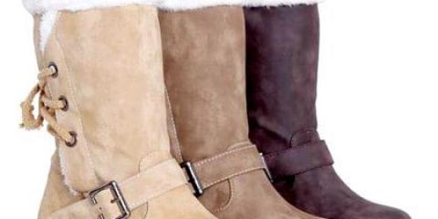 Як доглядати за замшевими чобітьми?