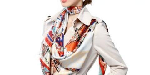 Як красиво носити шарф?