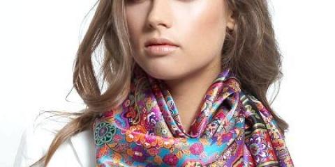 Як красиво зав'язувати шарфи, хустки, палантини?