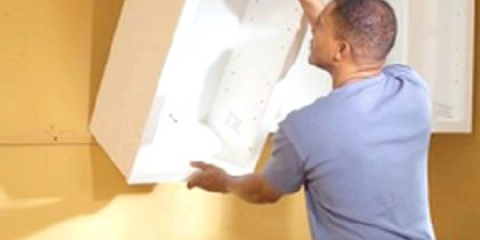 Як кріпити шафа до стіни?