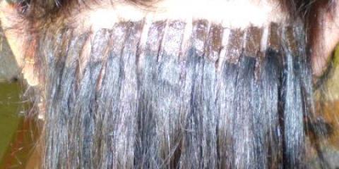 Як наростити волосся?