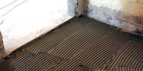 Як покласти плитку на цемент?