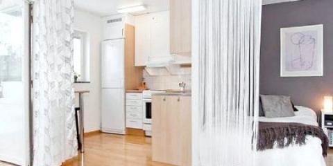 Як поєднати зал і спальню в одній кімнаті?