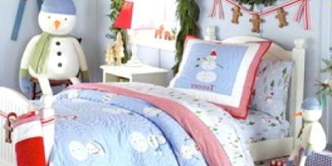 Як прикрасити дитячу ліжко до нового року?