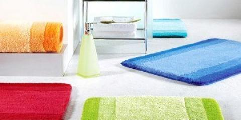 Як вибрати килимок для ванної?