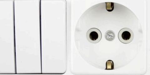 Як підключити розетку з вимикачем?