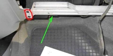 Як поміняти салонний фільтр лачетті?