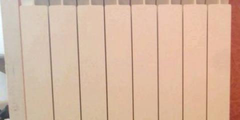 Як розрахувати кількість секцій радіатора отполенія?