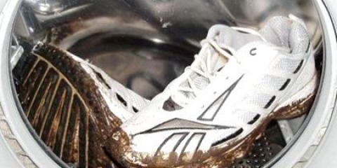 Як прати взуття в пральній машині?