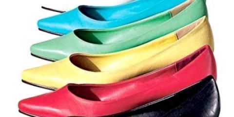 Як відновити колір взуття самостійно?