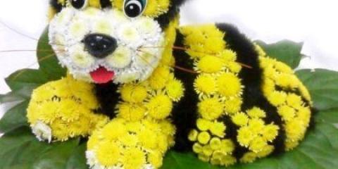Як зробити іграшку з квітів?