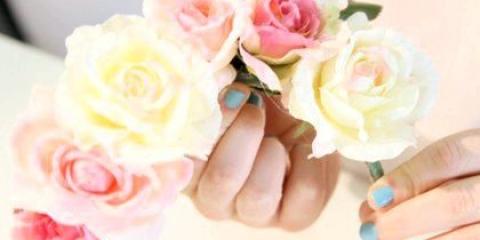 Як зробити обідок з квітів: модний аксесуар своїми руками