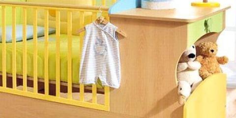 Як вибрати ліжечко для малюка і облаштувати її?