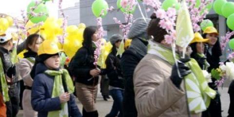 Сценарій свята весни і праці